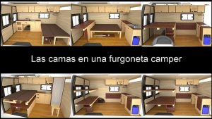 Camas furgoneta camper