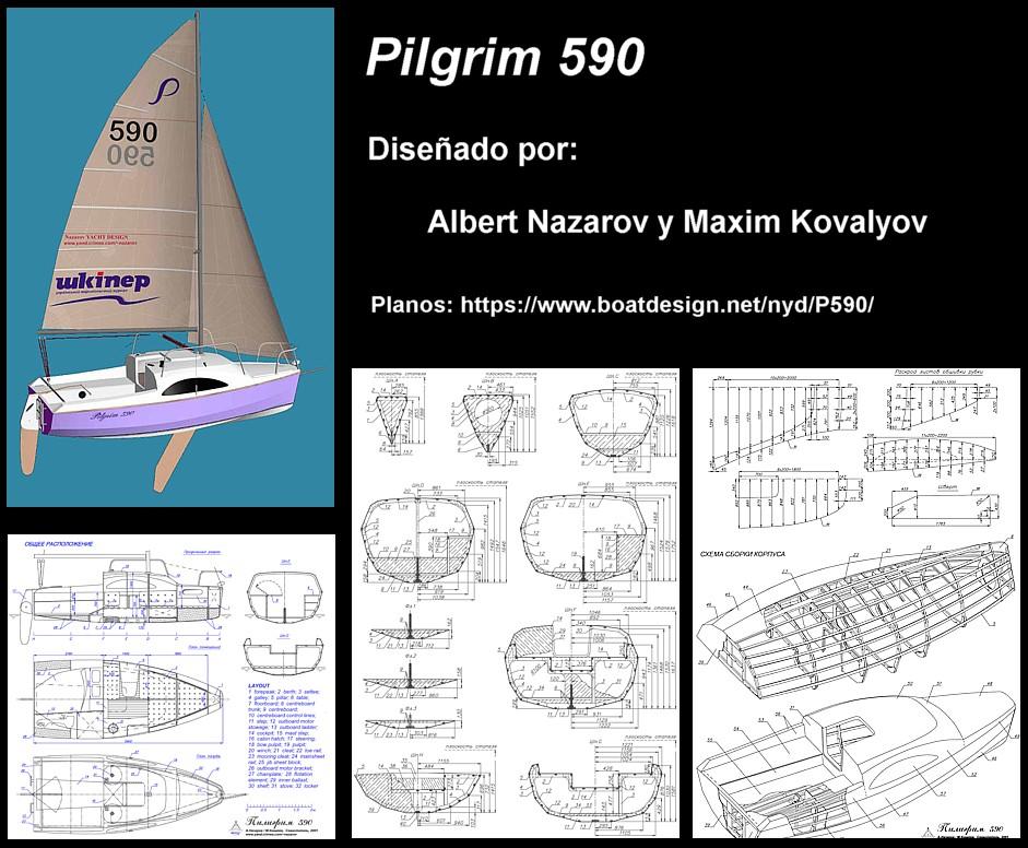 Construir velero. Planos