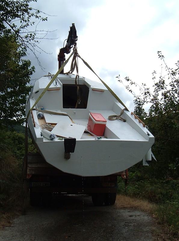 Construir velero. Reflote