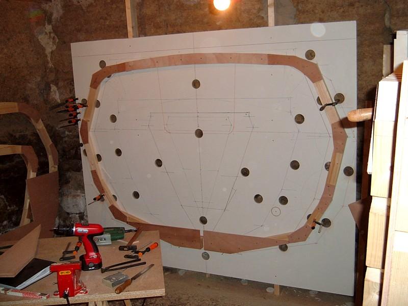 Construir un velero. Cuaderna
