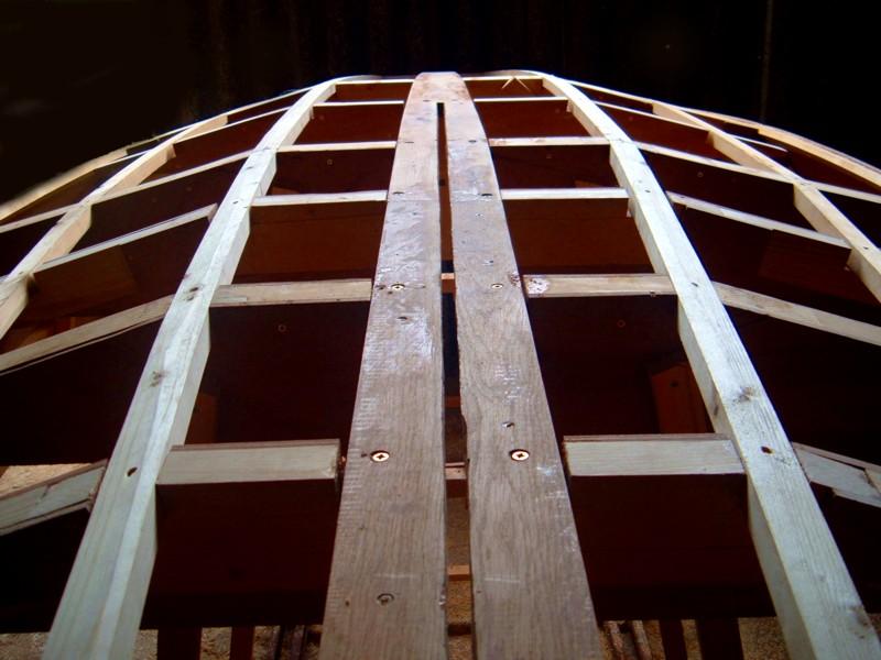 Construir velero. Quilla
