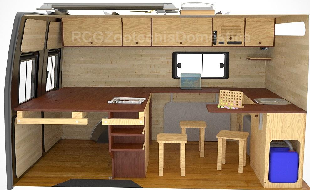 Camper oficina