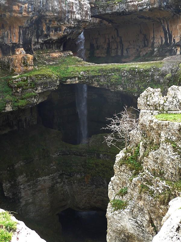 Garganta de los tres puentes. Baatara, Líbano