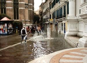 Venecia se hunde