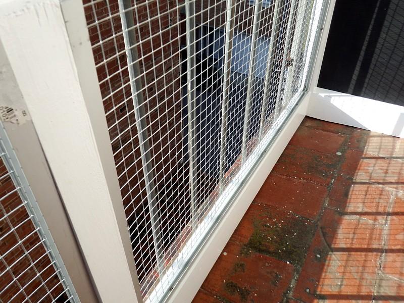 Rejilla terrario exterior