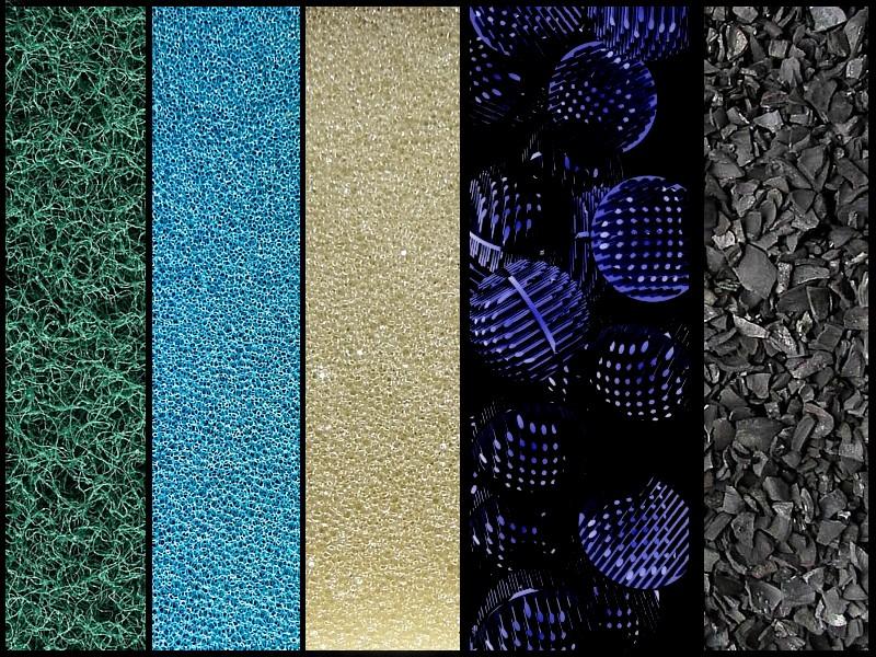 Materiales filtrantes for Material para estanques