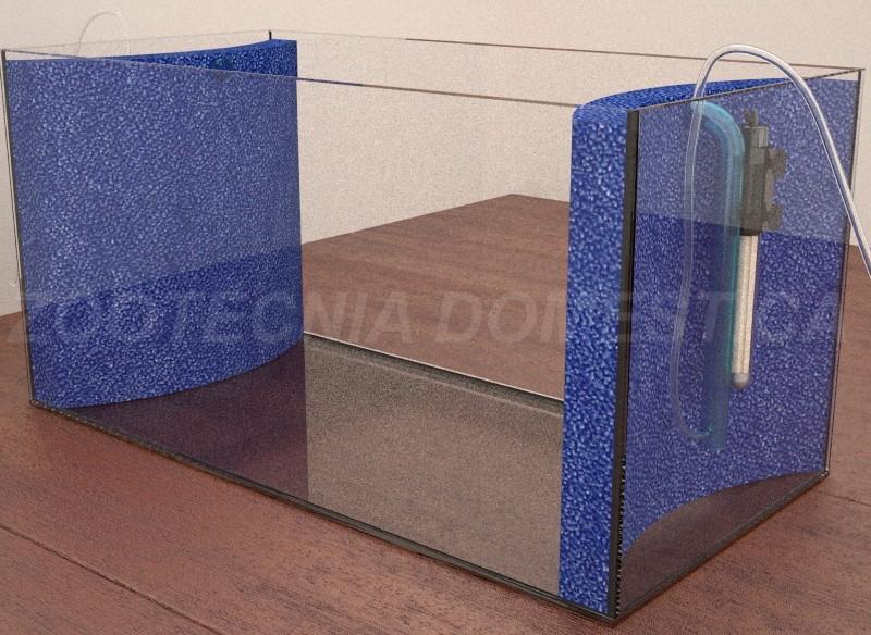 Hamburguer mattenfilter integral