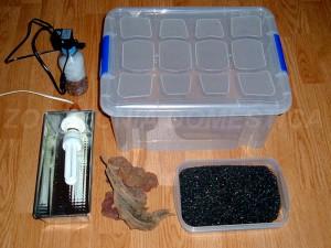 acuario plastico