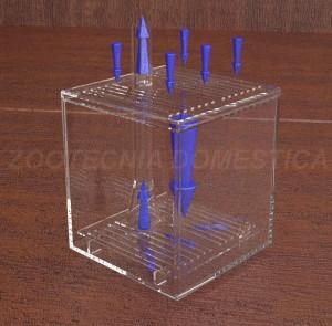 Diagrama de flujos filtro de caja o esquina