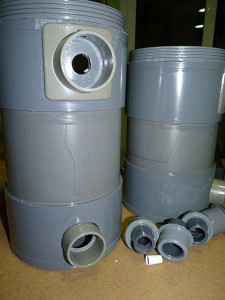 Filtro exterior PVC