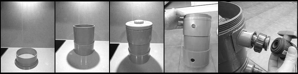 Filtro exterior PVC, proceso