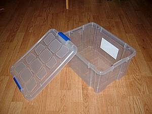 tupper, caja ordenación