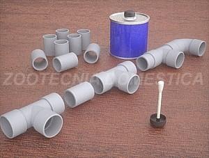 Filtro de gravas con PVC