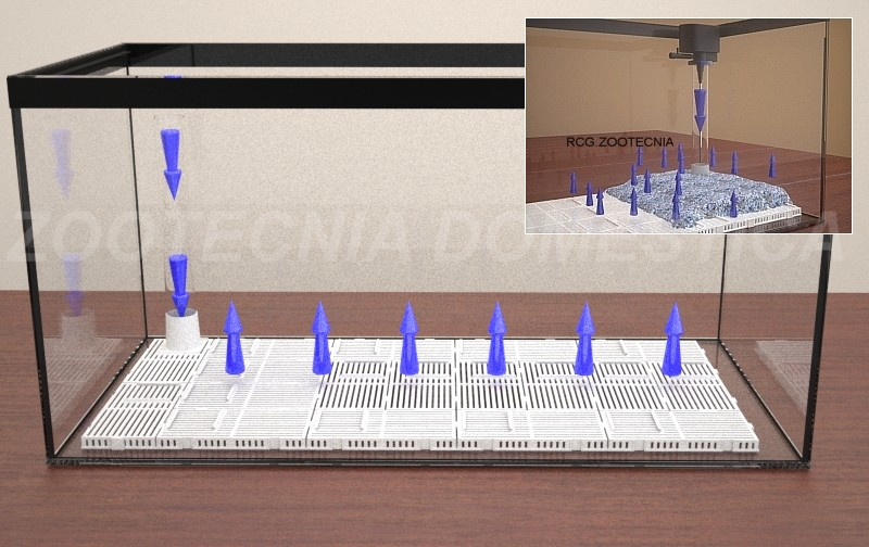Flujo inverso, filtro de fondo, de gravas, de placas