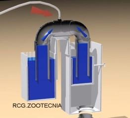 Rebosador, cebado automático