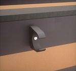 Detalle pinza PVC