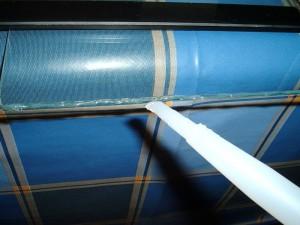 Pasar cordón silicona