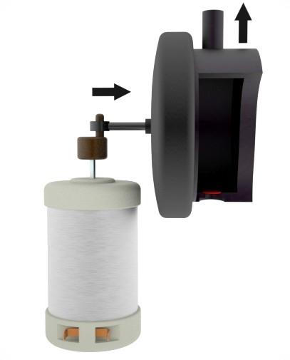 Bomba de membrana, fase de compresión