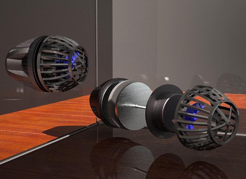Bomba recirculación acuario de disco inducido