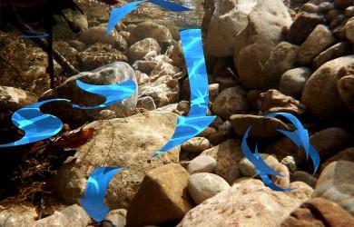 Ejemplo ficticio de las corrientes en alta montaña