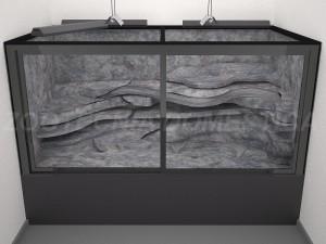 Terrario en resinas epoxy