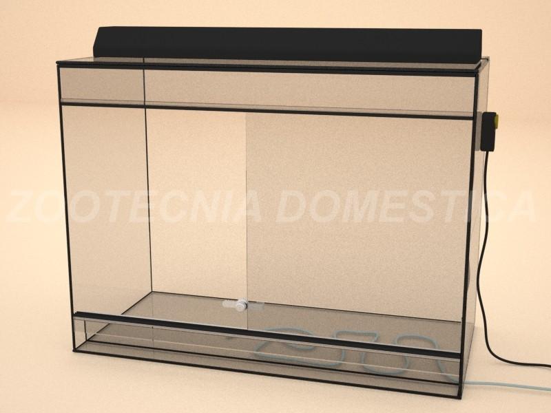 Terrario vidrio vertical