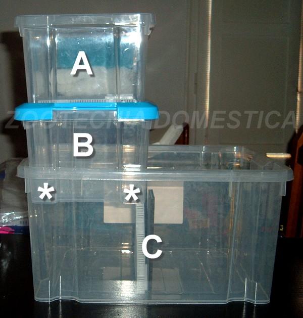Secohúmedo con cajas