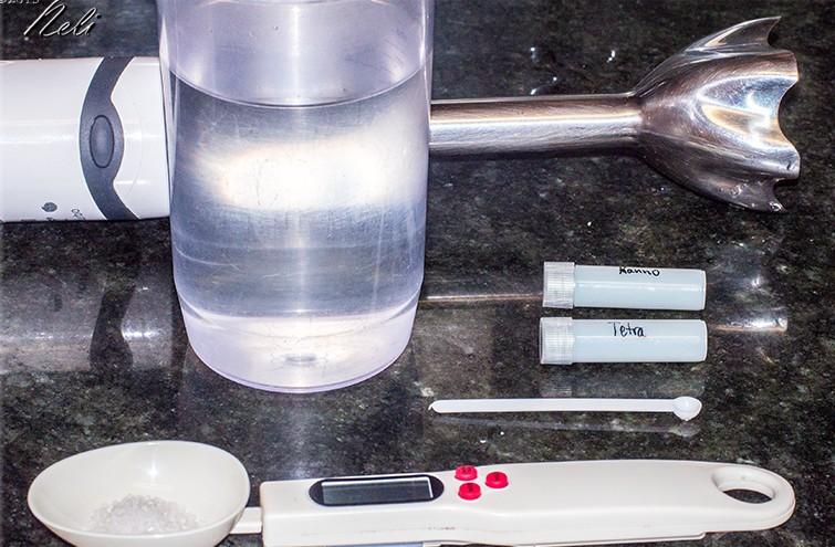 Fitoplancton liofilizado, preparación