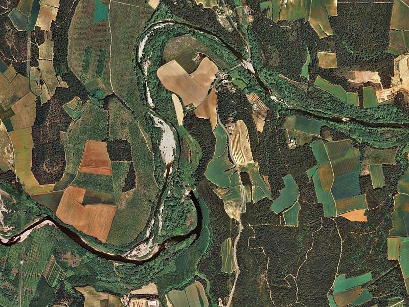 Meandros Fluviá. Imagen actual