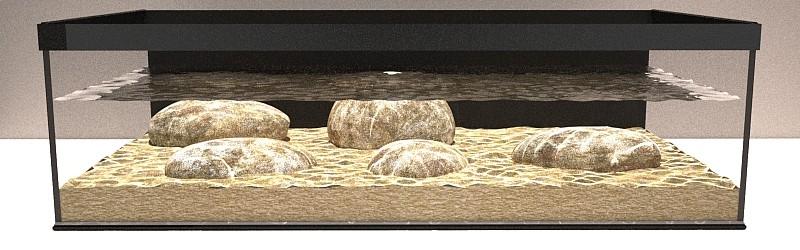 Stream aquarium baja columna