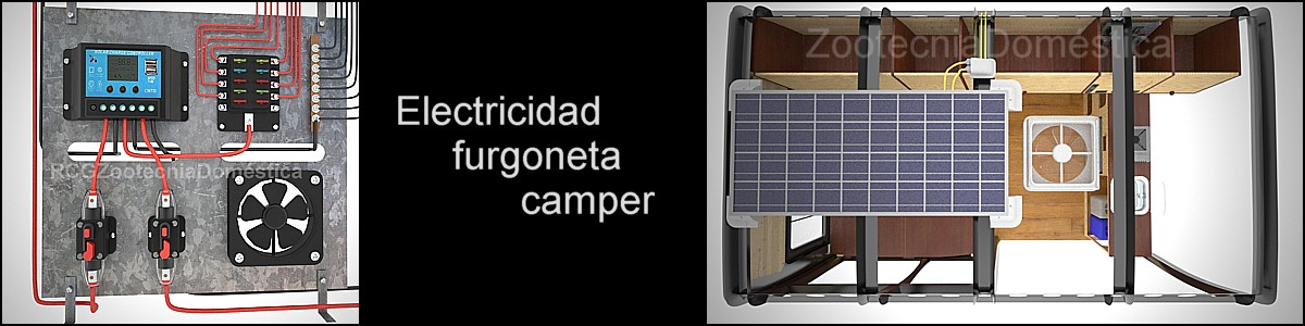 Electricidad furgoneta camper