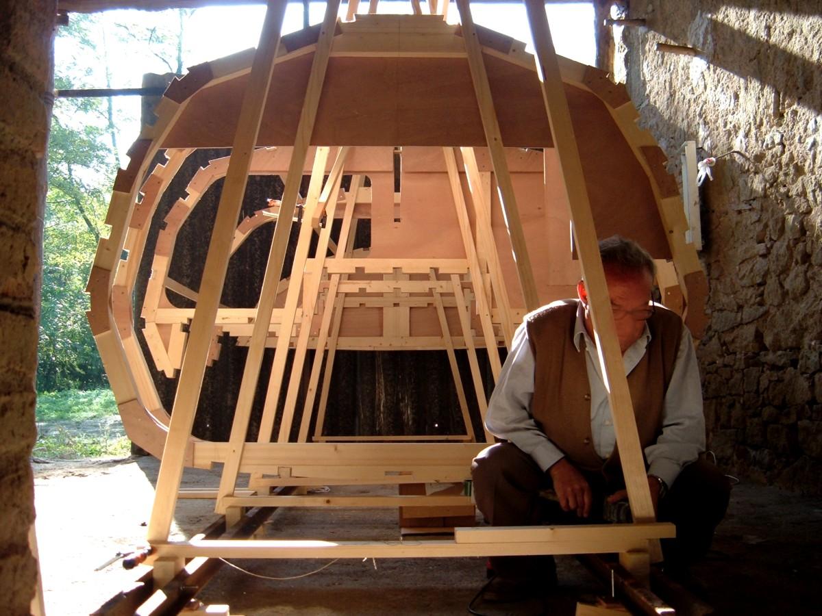 Construir velero. Armado