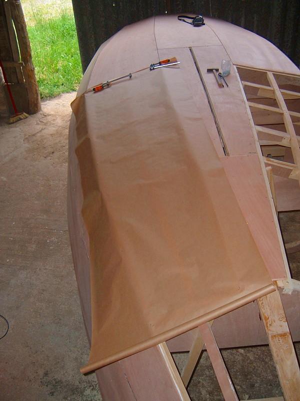 Construir velero. Panelado