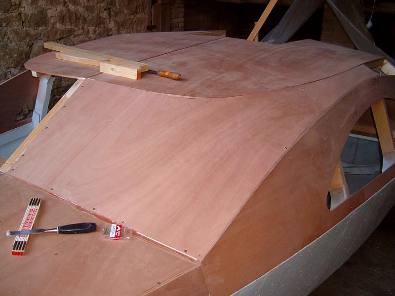 Construir velero. Cubiertas