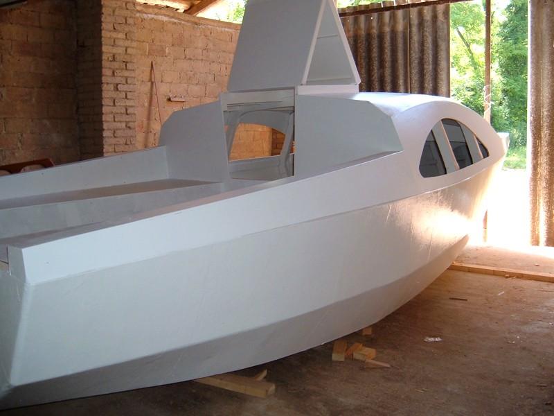Construir velero. Acabados