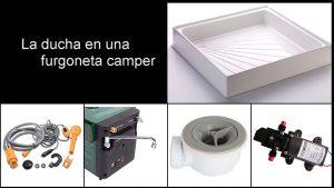 Ducha camper