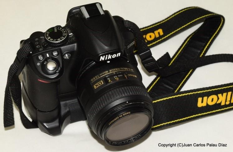 Fotografía acuarística. Cámara Nikon
