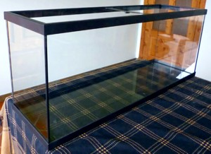 acuario marco plástico