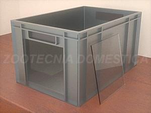 caja plástica industrial
