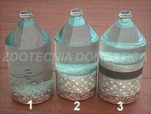 Filtro de caja con botella