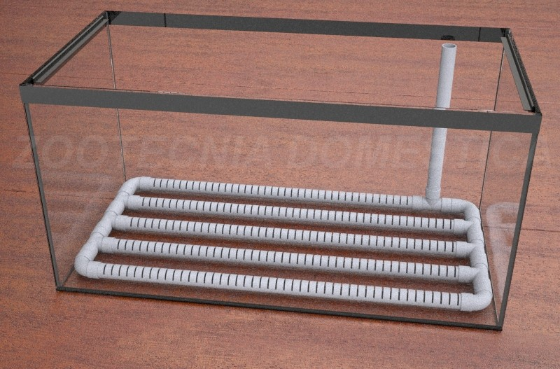 filtro placa PVC