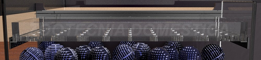 Filtro seco integrado, panorámica