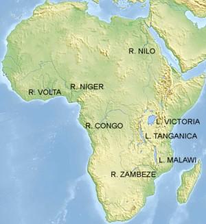 África, hidrología
