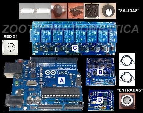 Control digital Arduino