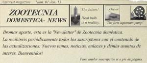 Newsletter Zootecnia domestica