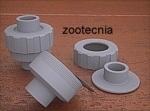 PVC, enlace 3 piezas