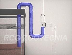 Sifón seguridad PVC