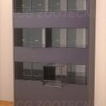 Batería pequeños terrarios vidrio