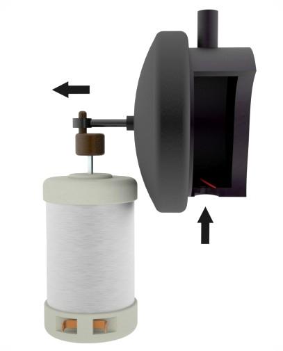 Bomba de membrana, fase de admisión