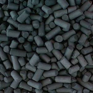 Carbón activado en pellet